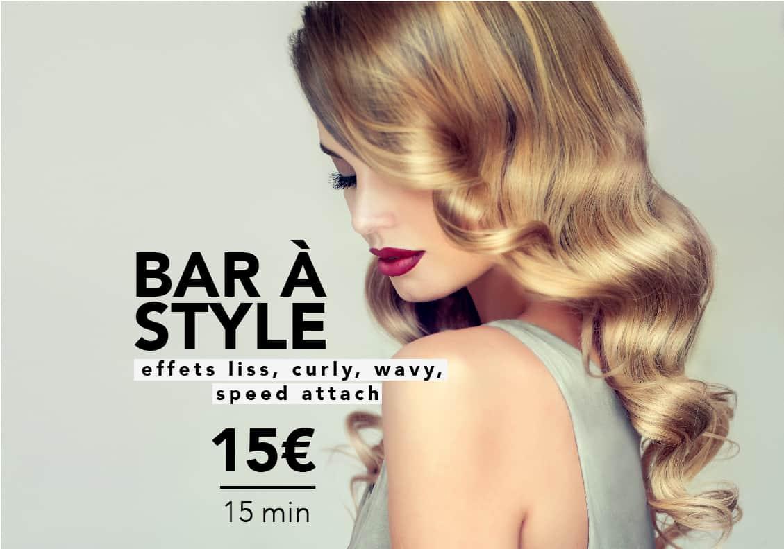 15€ les 15 minutes